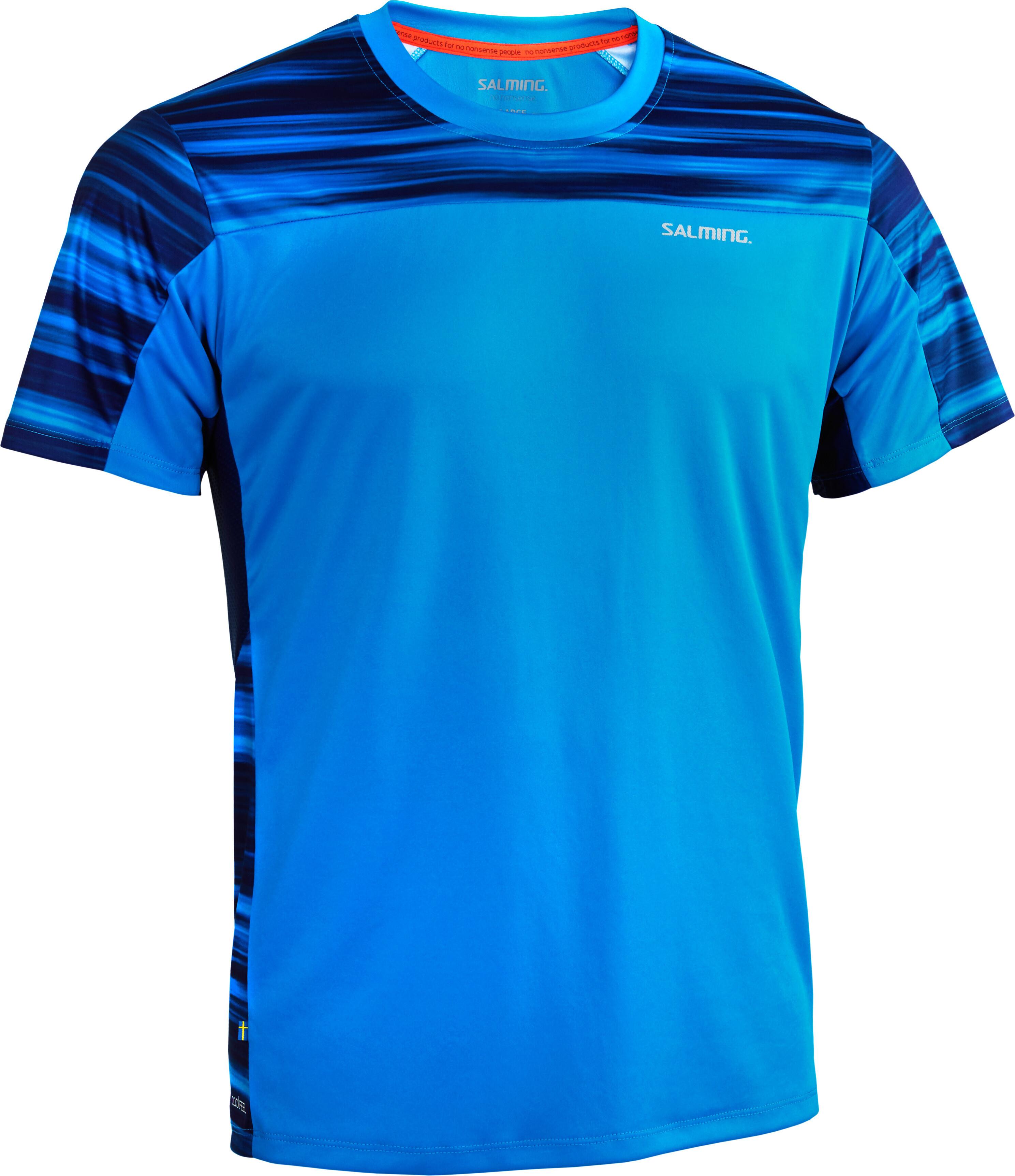 factory outlets get cheap cheap for discount Salming Motion - T-shirt course à pied Homme - bleu